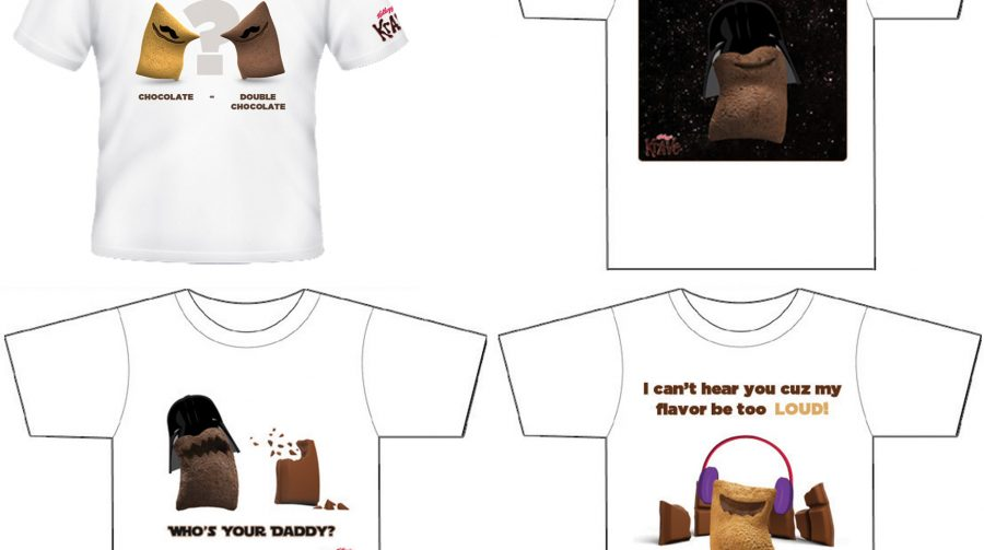 Kellogg's T-shirt concept for Kellogg's KRAVE cereal