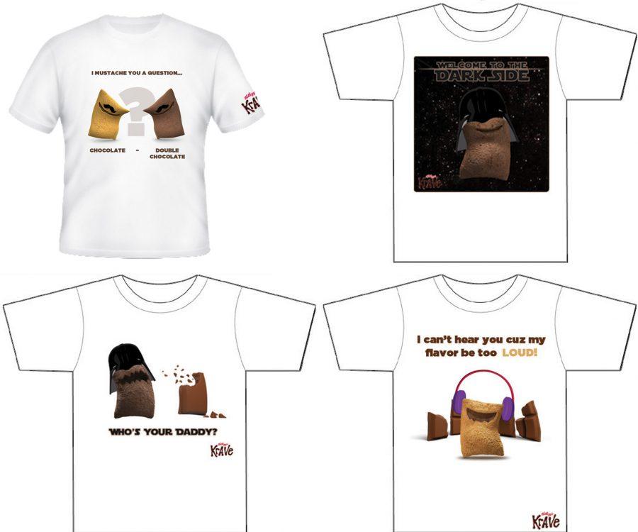 Kellogg's T-shirt concept for Kellogg's KRAVE cereal