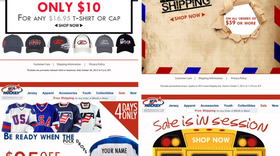 USAH email campaigns