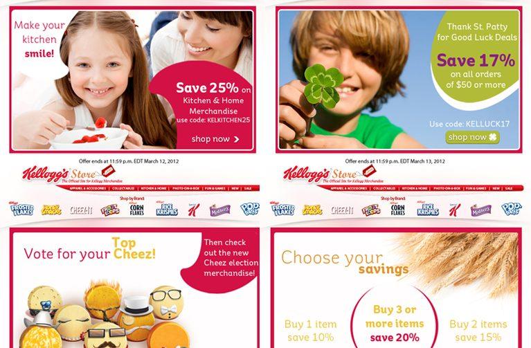 Kellogg Store Email Marketing