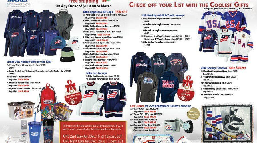 USA Hockey Magazine Spread