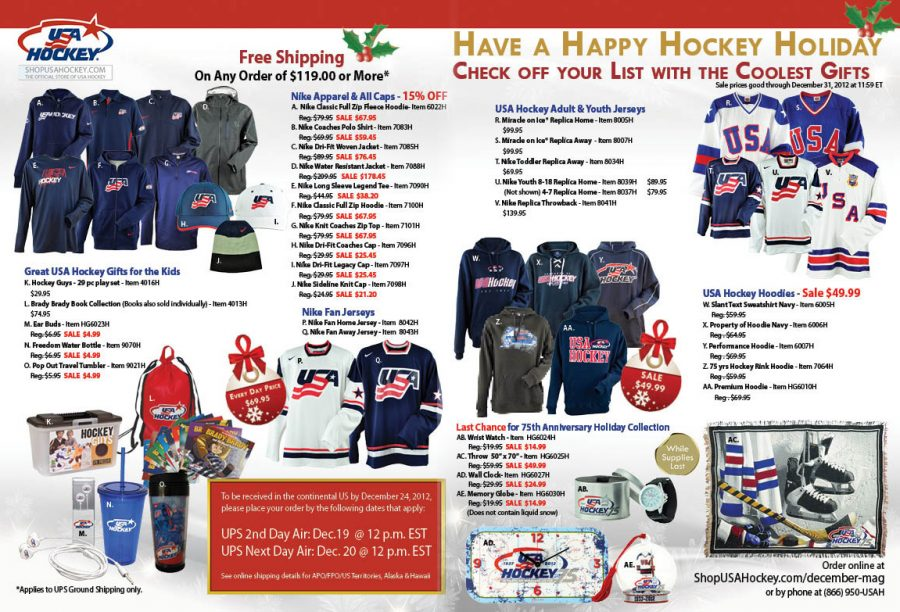 USA Hockey Magazine Spread