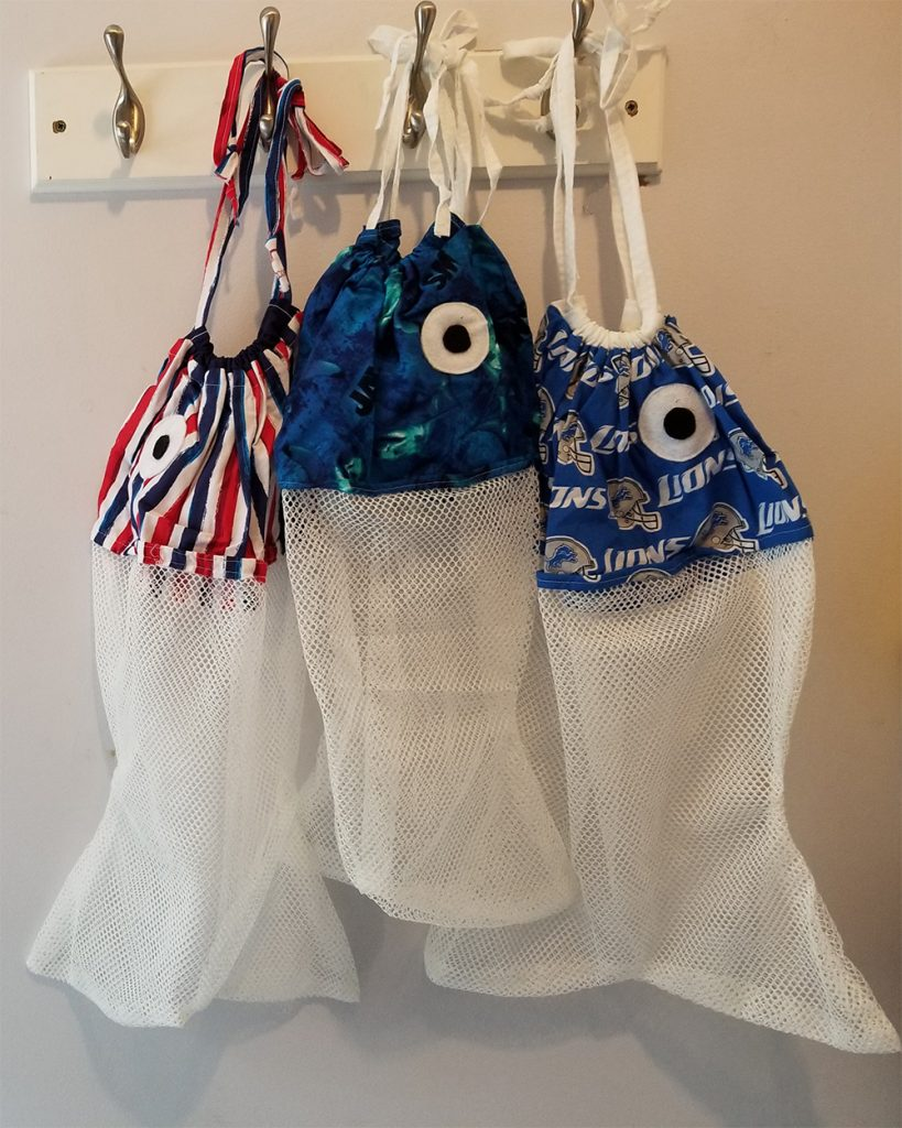 DIY Fish Laundry Bags