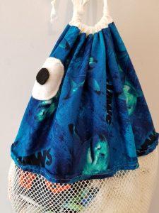 JAWS Fish Laundry Bag