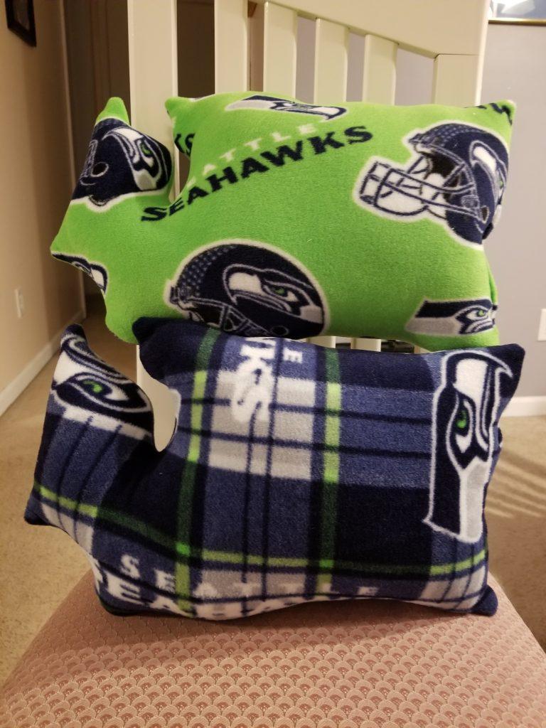 Seattle Seahawks Pillow
