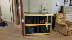 built-in bar complete
