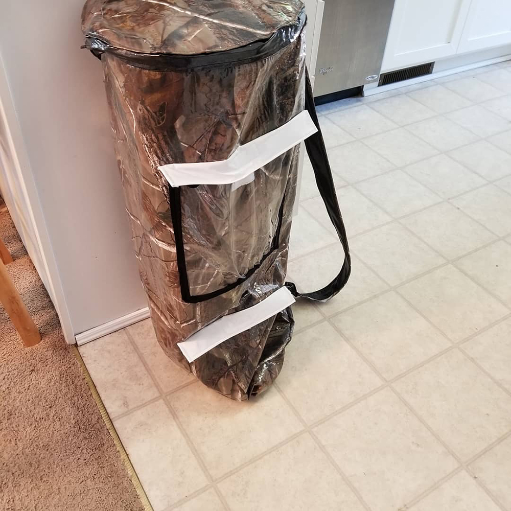 ice fishing pole bag