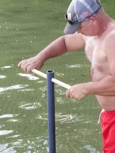 diy sandbar anchor crank